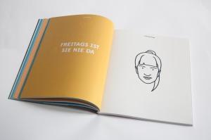 Illustration of Mara Weyel in e x magazine 2