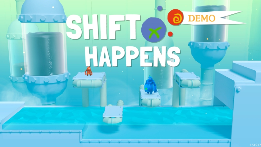 The extended logo for the demo version on the splash screen